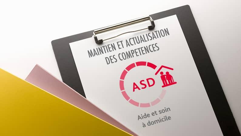 MAINTENIR ET ACTUALISER SES COMPETENCES DE FORMATEUR APS ASD (MAC FORMATEUR APS ASD)