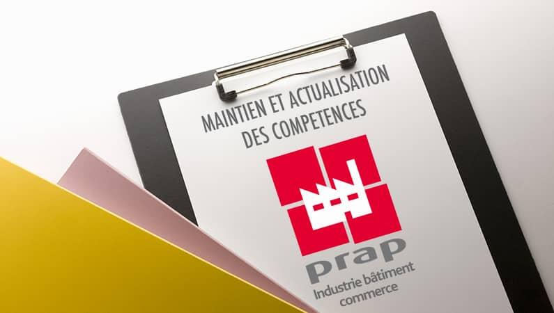 MAINTENIR ET ACTUALISER SES COMPETENCES DE FORMATEUR PRAP IBC (MAC FORMATEUR PRAP IBC)